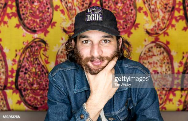 Actor Josh Safdie is photographed during the 61st BFI London Film Festival on October 6 2017 in London England