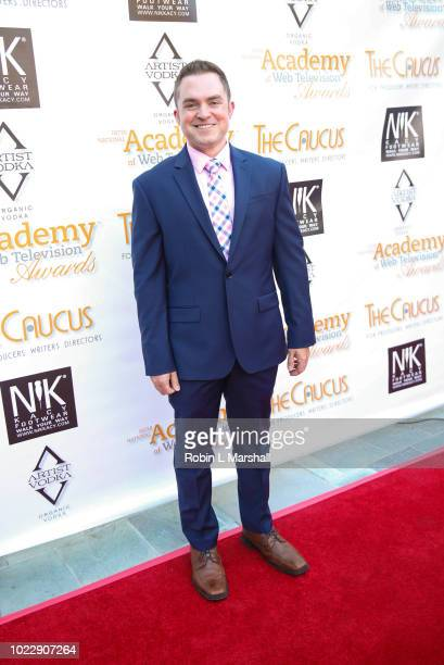 Actor Josh Shernoff attends the 6th International Academy of Web Television Awards at Skirball Cultural Center on August 24 2018 in Los Angeles...