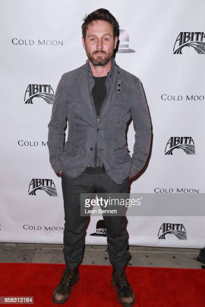 Actor Josh Stewart attends the Premiere Of Cold Moon at Laemmle's Ahrya Fine Arts Theatre on October 5 2017 in Beverly Hills California