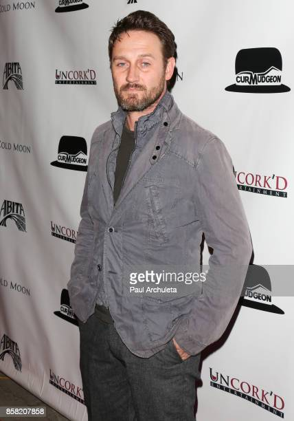 Actor Josh Stewart attends the premiere of Cold Moon at The Laemmle's Ahrya Fine Arts Theatre on October 5 2017 in Beverly Hills California