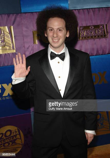 Actor Josh Sussman attends Fox's 2010 Golden Globes Awards Party at Craft on January 17 2010 in Century City California