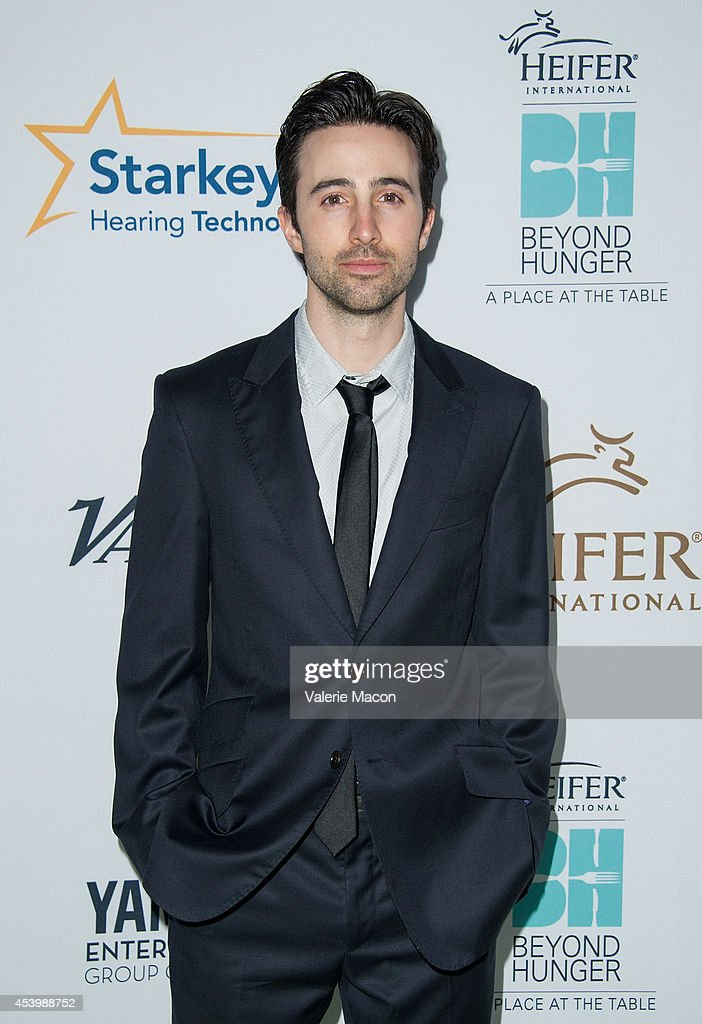 Actor Josh Zuckerman arrives at the Heifer International's 3rd Annual 'Beyond Hunger: A Place At The Table' Gala at Montage Beverly Hills on August 22, 2014 in Beverly Hills, California.