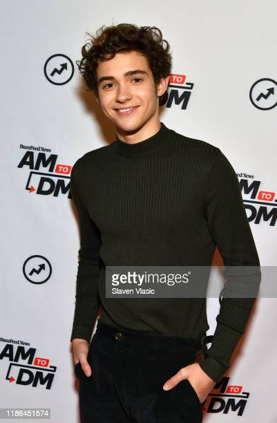 "Actor Joshua Bassett visits BuzzFeed's ""AM To DM"" to discuss Disney+ web television series ""High School Musical: The Musical: The Series"" on November..."
