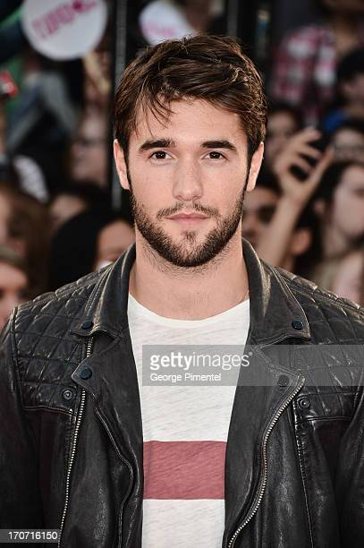 Actor Joshua Bowman arrives at the 2013 MuchMusic Video Awards at MuchMusic HQ on June 16 2013 in Toronto Canada
