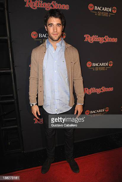 Actor Joshua Bowman attends Rolling Stone's Bacardi Bash 150 Years of Rocking The Party at The Crane Bay on February 4 2012 in Indianapolis Indiana