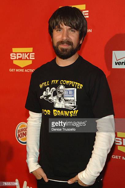 Actor Joshua Gomez arrives at Spike TV's 2007 Video Game Awards at the Mandalay Bay Events Center on December 7 2007 in Las Vegas Nevada