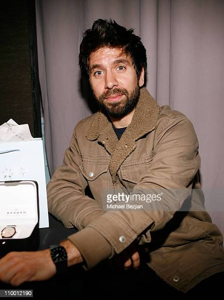 Actor Joshua Gomez at the Access Hollywood Stuff You Must Lounge Presented by On 3 Productions at Sofitel Hotel on January 11 2008 in Beverly Hills...