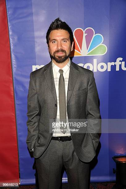 Actor Joshua Gomez attends the 2010 NBC Upfront presentation at The Hilton Hotel on May 17 2010 in New York City