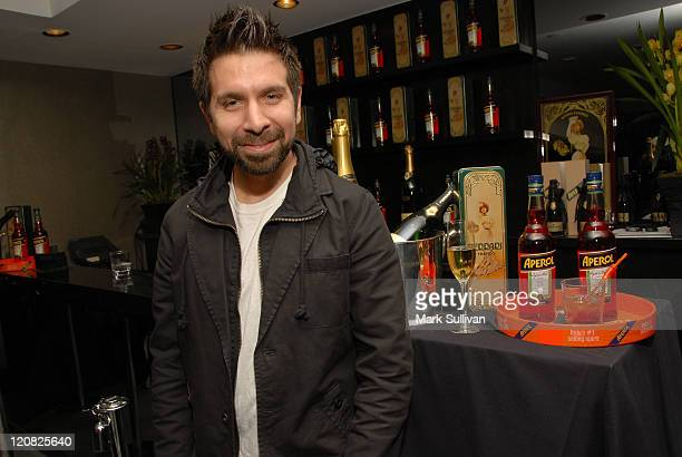 Actor Joshua Gomez attends the Access Hollywood Stuff You Must Lounge produced by On 3 Productions held at Sofitel LA on January 9 2009 in Los...