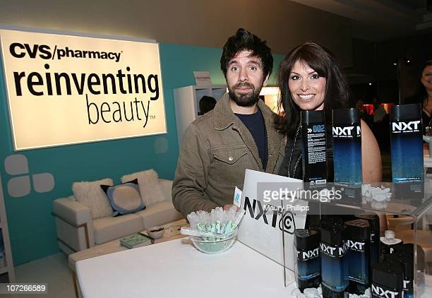 Actor Joshua Gomez with CVS at the Access Hollywood Stuff You Must Lounge Presented by On 3 Productions at Sofitel Hotel on January 11 2008 in...