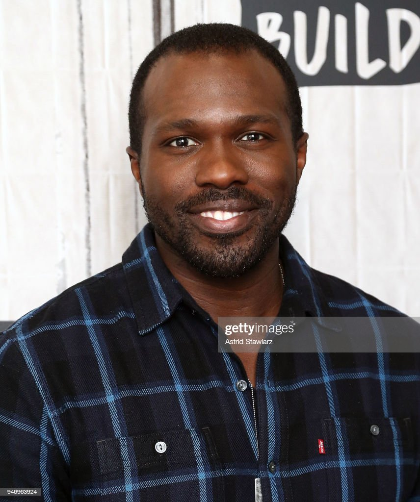 Actor Joshua Henry discusses the Broadway revival of Carousel at Build Studio on April 16, 2018 in New York City.