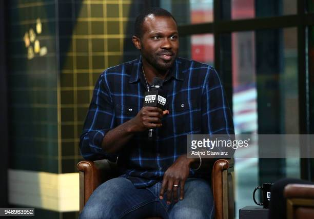 Actor Joshua Henry discusses the Broadway revival of Carousel at Build Studio on April 16 2018 in New York City