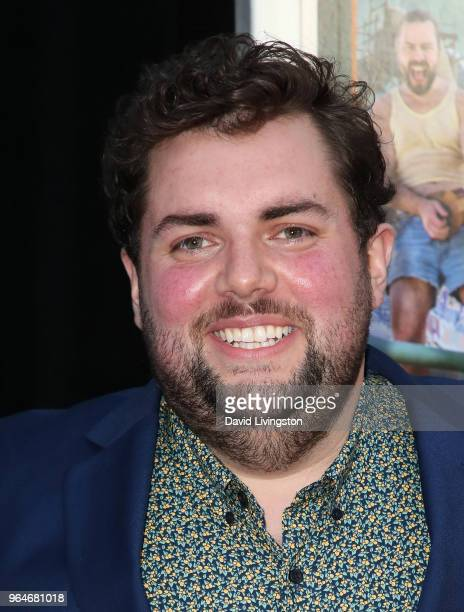 Actor Joshua Hoover attends the premiere of Paramount Pictures' 'Action Point' at ArcLight Hollywood on May 31 2018 in Hollywood California