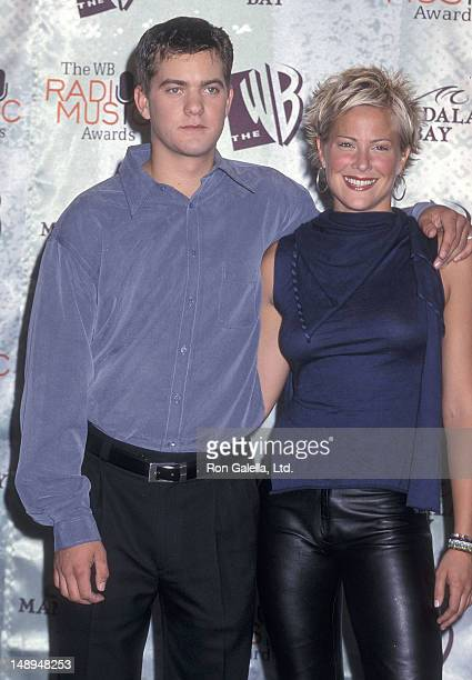Actor Joshua Jackson and actress Brittany Daniel attend the First Annual Radio Music Awards on October 28 1999 at the Manadalay Bay Resort Casino in...