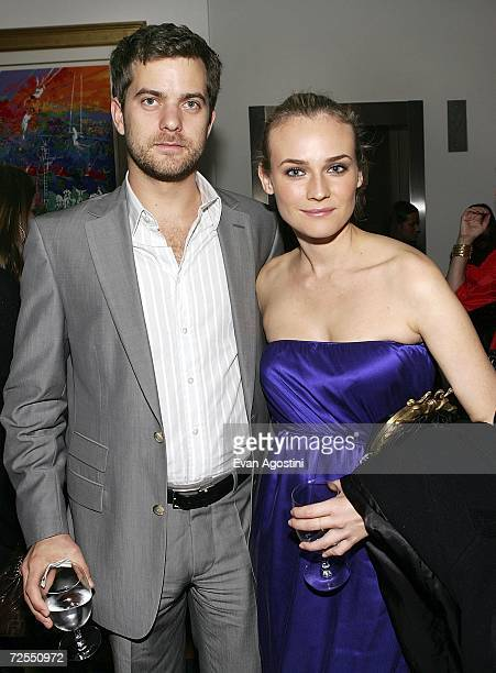 Actor Joshua Jackson and girlfriend actress Diane Kruger attend a special screening after party for the film 'Bobby' hosted by The Weinstein Company...