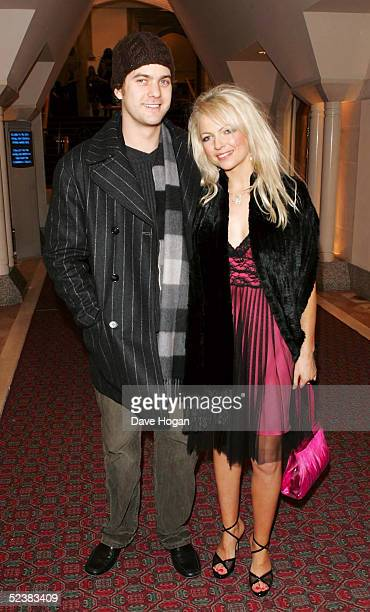 Actor Joshua Jackson and Hannah Sandling arrive at the Sony Ericsson Empire Film Awards 2005 at Guildhall on March 13 2005 in London The annual film...