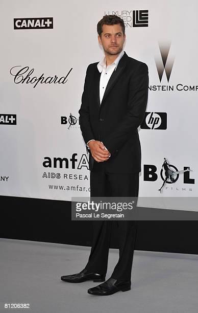 Actor Joshua Jackson arrive at amfAR's Cinema Against AIDS 2008 benefit held at Le Moulin de Mougins during the 61st International Cannes Film...