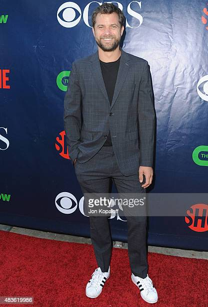Actor Joshua Jackson arrives at CBS, CW And Showtime 2015 Summer TCA Party at Pacific Design Center on August 10, 2015 in West Hollywood, California.