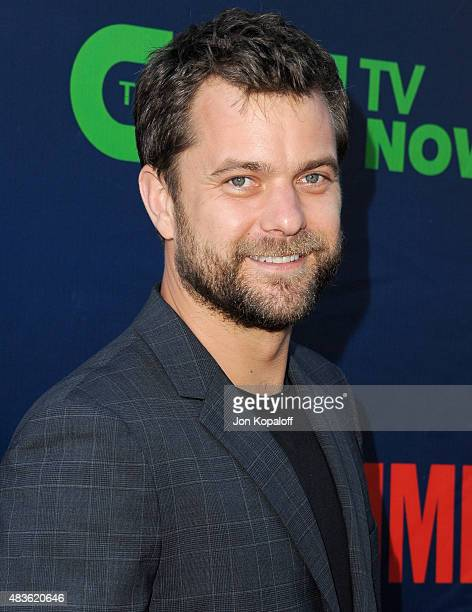 Actor Joshua Jackson arrives at CBS CW And Showtime 2015 Summer TCA Party at Pacific Design Center on August 10 2015 in West Hollywood California