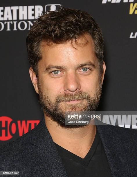 Actor Joshua Jackson arrives at Showtime's VIP prefight party for Mahem Mayweather vs Maidana 2 at the MGM Grand Garden Arena on September 13 2014 in...
