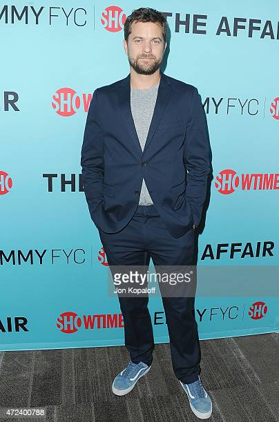 Actor Joshua Jackson arrives at the screening of Showtime's 'The Affair' at Samuel Goldwyn Theater on May 6 2015 in Beverly Hills California