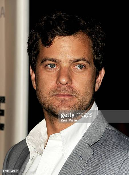 Actor Joshua Jackson arrives at the series premiere of FX's 'The Bridge' at the Directors Guild of America on July 8 2013 in Los Angeles California