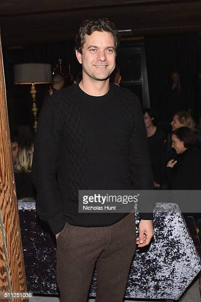 Actor Joshua Jackson attends as Harvey Weinstein hosts a celebration for Forest Whitaker in Eugene O'Neill's 'Hughie' at Elyx House NYC on February...