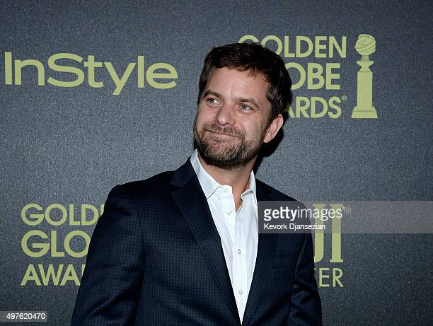 Actor Joshua Jackson attends Hollywood Foreign Press Association and InStyle Celebration of The 2016 Golden Globe Award Season at Ysabel on November...