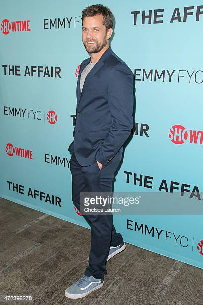 Actor Joshua Jackson attends Showtime's 'The Affair' screening and panel discussion at Samuel Goldwyn Theater on May 6 2015 in Beverly Hills...