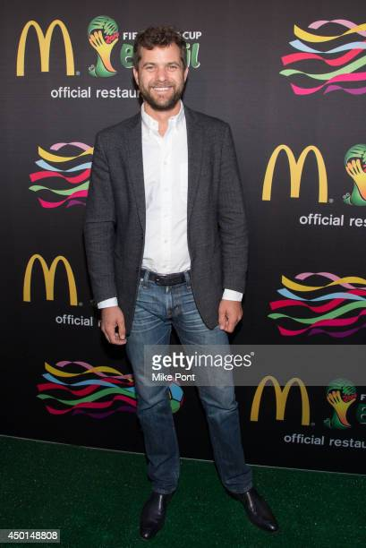Actor Joshua Jackson attends the 2014 FIFA World Cup McDonald's Launch Party at Pillars 38 on June 5 2014 in New York City