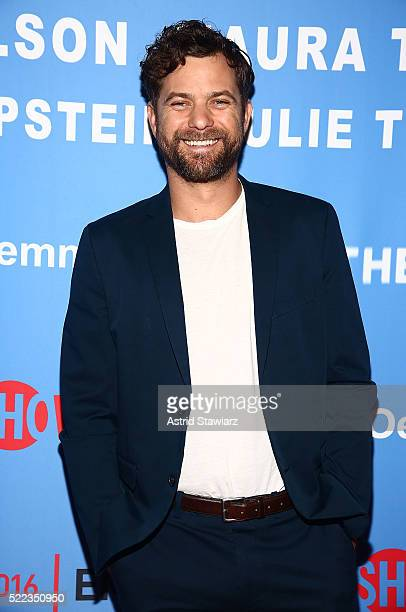 Actor Joshua Jackson attends The Affair New York screening at NYIT Auditorium on Broadway on April 18 2016 in New York City