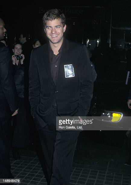 Actor Joshua Jackson attends the 'Dawson's Creek' 100th Episode Celebration on February 19 2002 at the Museum of Television Radio in New York City