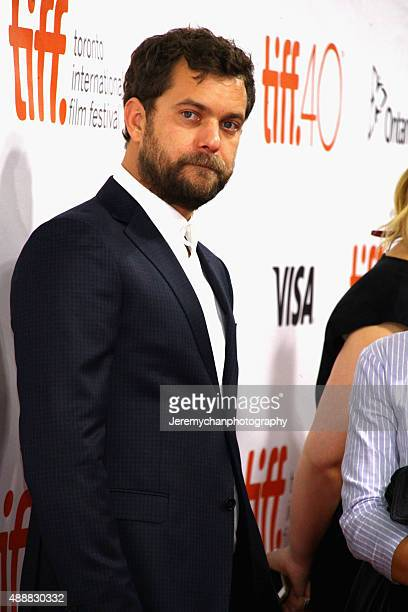 Actor Joshua Jackson attends the 'Disorder' premiere during the 2015 Toronto International Film Festival held at Roy Thomson Hall on September 17...