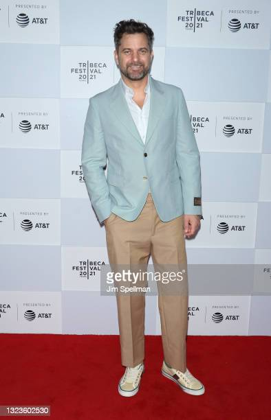 """Actor Joshua Jackson attends the """"Dr. Death"""" premiere during the 2021 Tribeca Festival at Pier 76 on June 14, 2021 in New York City."""