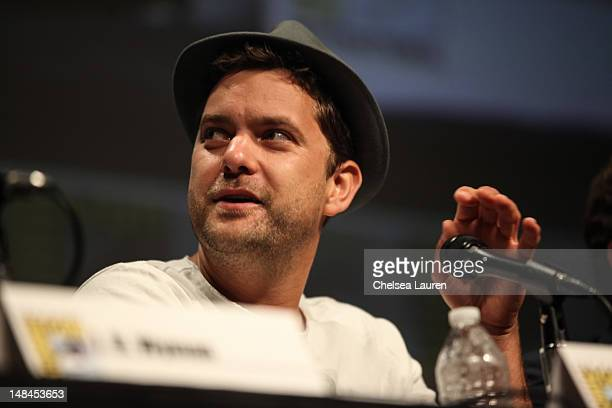"Actor Joshua Jackson attends the ""Fringe"" panel at Comic-Con International at San Diego Convention Center on July 15, 2012 in San Diego, California."