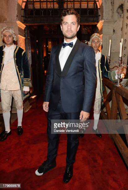 Actor Joshua Jackson attends the Valentino Ball during the 70th Venice International Film Festival at at Palazzo Volpi on September 4 2013 in Venice...