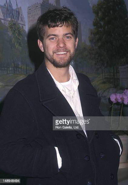 Actor Joshua Jackson attends the WB Television Upfront AllStar Party on May 14 2002 at the Sheraton New York Hotel in New York City