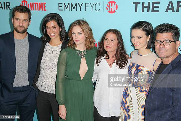 Actor Joshua Jackson executive producer Sarah Treem actresses Ruth Wilson Maura Tierney and Julia Goldani Telles and executive producer Jeffrey...