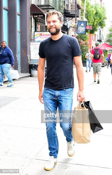 Actor Joshua Jackson is seen walking in Soho on September 8 2017 in New York City