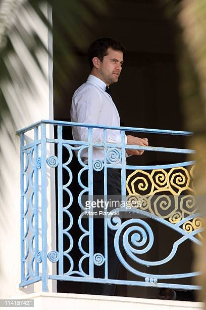 Actor Joshua Jackson photographed at Hotel Martinez on May 12 2011 in Cannes France