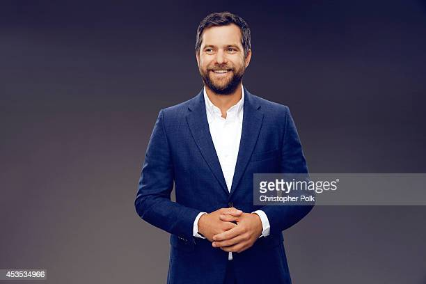 Actor Joshua Jackson poses for a portrait at CW network panel at the the Summer 2014 TCAs on July 18 2014 in Beverly Hills California