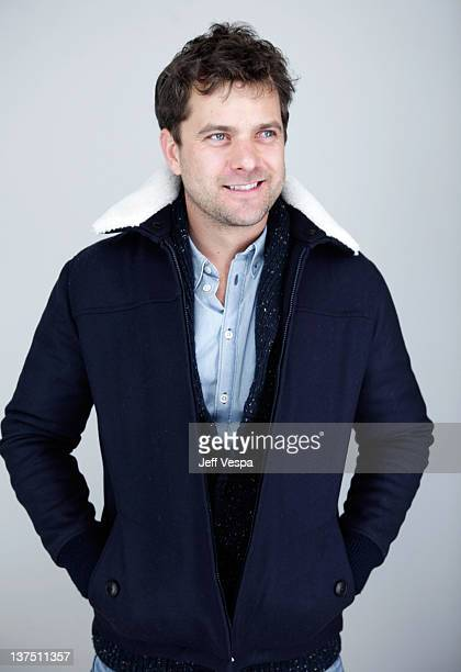 Actor Joshua Jackson poses for a portrait during the 2012 Sundance Film Festival at the WireImage Portrait Studio at TMobile Village at the Lift on...