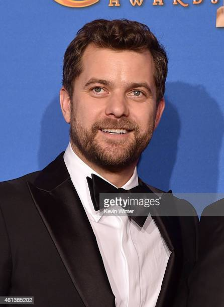 Actor Joshua Jackson poses in the press room during the 72nd Annual Golden Globe Awards at The Beverly Hilton Hotel on January 11 2015 in Beverly...