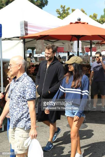 Actor Joshua Jackson seen on August 20 2017 in Los Angeles CA