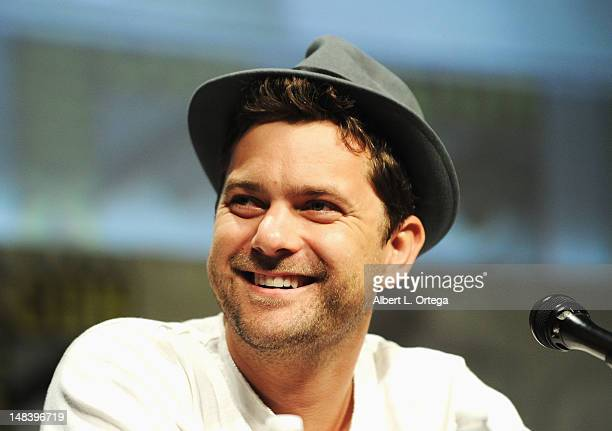 Actor Joshua Jackson speaks at Fringe Panel during ComicCon International 2012 at San Diego Convention Center on July 15 2012 in San Diego California