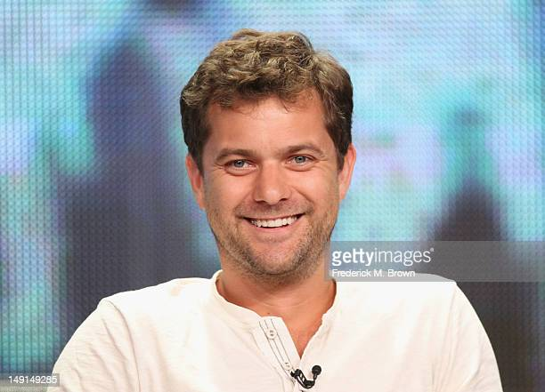Actor Joshua Jackson speaks onstage at the 'Fringe' panel during day 3 of the FOX portion of the 2012 Summer TCA Tour held at the Beverly Hilton...