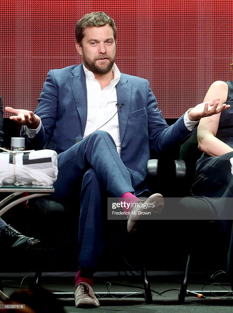 Actor Joshua Jackson speaks onstage at the 'The Affair' panel during the SHOWTIME Network portion of the 2014 Summer Television Critics Association at The Beverly Hilton Hotel on July 18, 2014 in Beverly Hills, California.