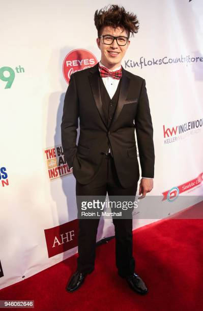 Actor Joshua Lee Young attends the 12th Annual Santee High School Fashion Show at Los Angeles Trade Technical College on April 13 2018 in Los Angeles...