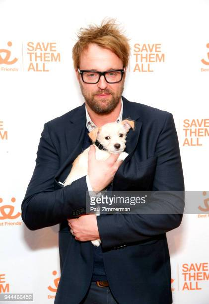Actor Joshua Leonard attends 3rd Annual Best Friends Animal Society New York City Gala at Guastavino's on April 10 2018 in New York City