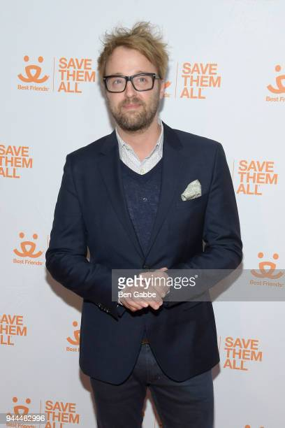 Actor Joshua Leonard attends the Best Friends Animal Society's 3rd Annual New York City Gala at Guastavino's on April 10 2018 in New York City